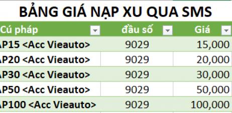 vieautomo-cong-nap-xu-auto-game-qua-sms